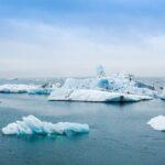 Melting ice shields