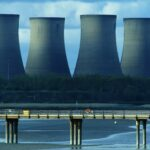 Power plant towers